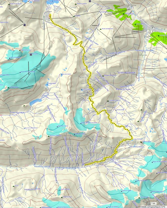 Quatre jours en Vanoise (introduction) Parcours_j1-bordure
