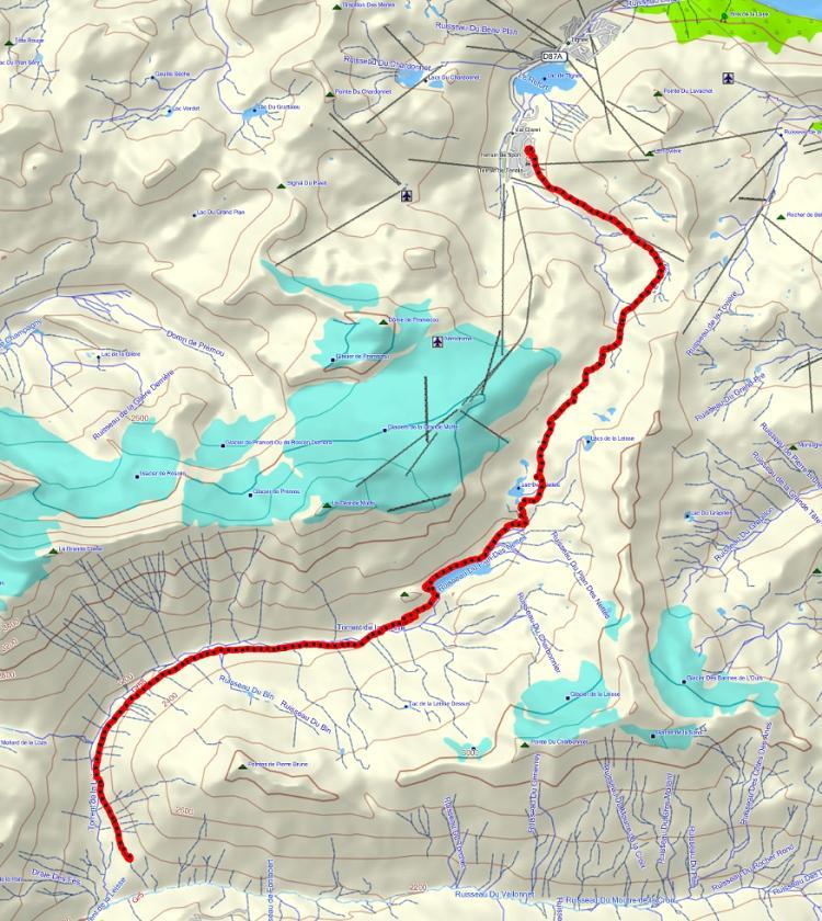 Quatre jours en Vanoise (introduction) Parcours_j4-bordure