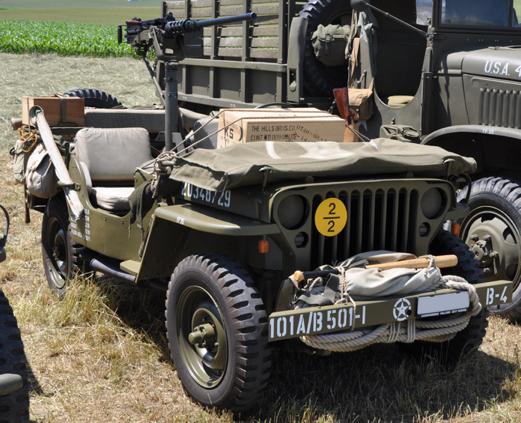 JEEP Willys & remorque, 1/72ème,  Kit #79997 MB-Willys-G503-armee-01p
