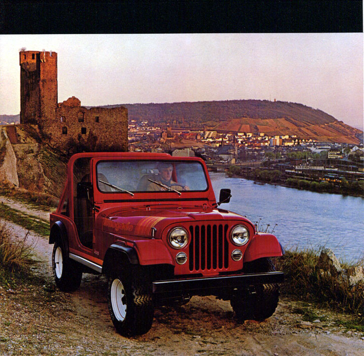 Jeep CJ7: différences entre versions 80jeepcj2
