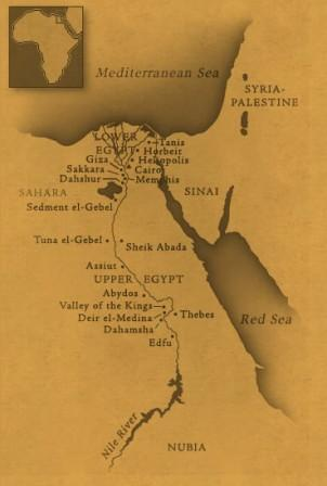 مصر علي مر العصور Ancient-egypt-map2
