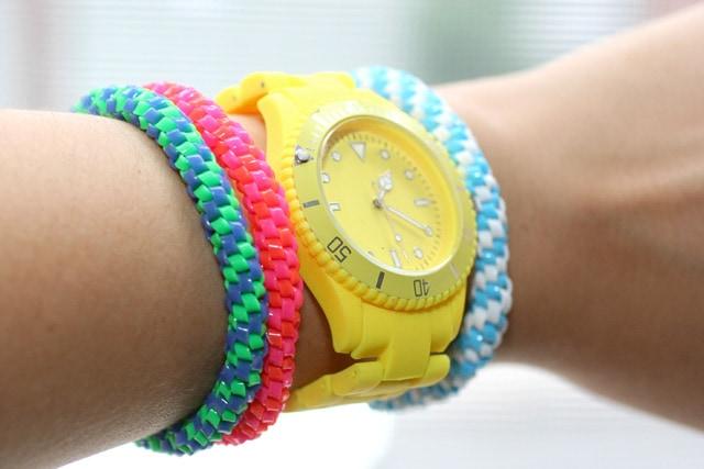 Auguri Azzurra! Bracelet-Diy