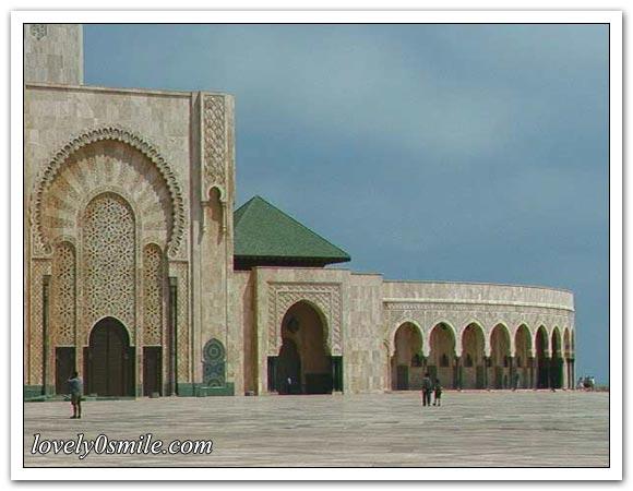 مسجد الحسن الثاني بالدار البيضاء .. I-072
