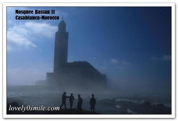 مسجد الحسن الثاني بالدار البيضاء .. I-074