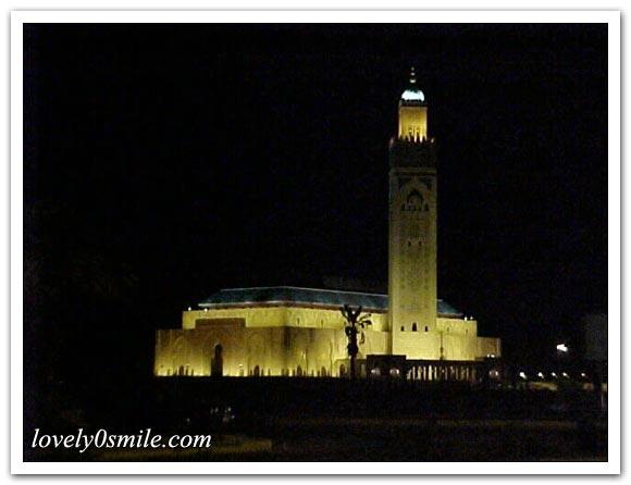 مسجد الحسن الثاني بالدار البيضاء .. I-078