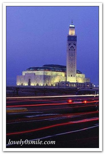 مسجد الحسن الثاني بالدار البيضاء .. I-079