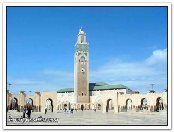 مسجد الحسن الثاني بالدار البيضاء .. I-082
