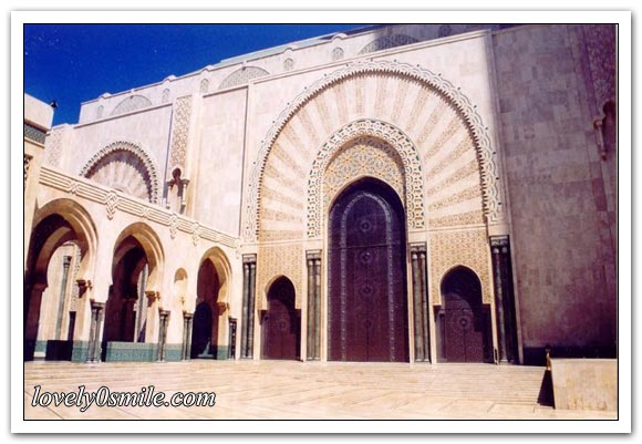 مسجد الحسن الثاني بالدار البيضاء .. I-084