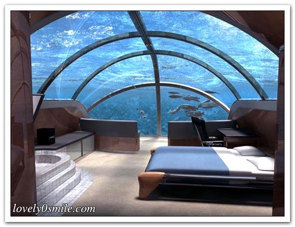 أول فندقين في أعماق البحر - صور 004