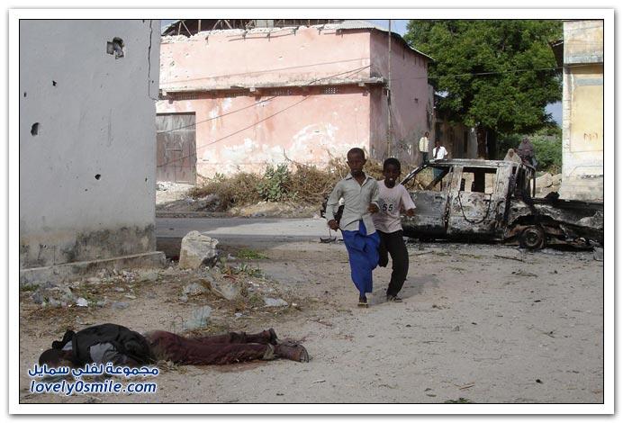 صور القتال من أجل السيطرة على الصومال Fighting-Somalia-05