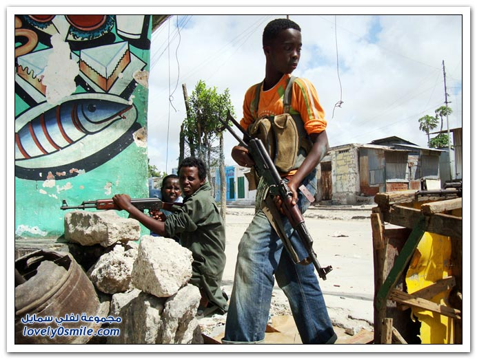 صور القتال من أجل السيطرة على الصومال Fighting-Somalia-09