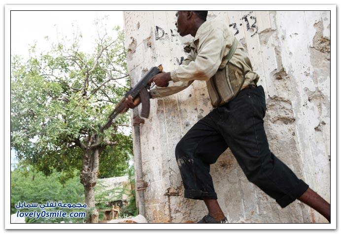 صور القتال من أجل السيطرة على الصومال Fighting-Somalia-18