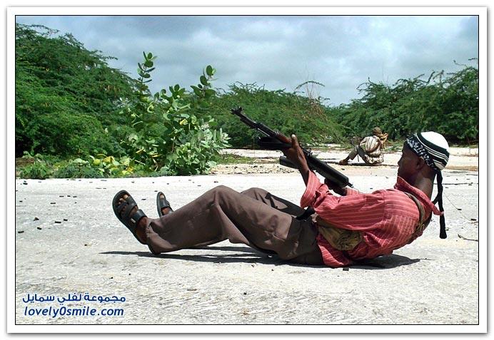 صور القتال من أجل السيطرة على الصومال Fighting-Somalia-19