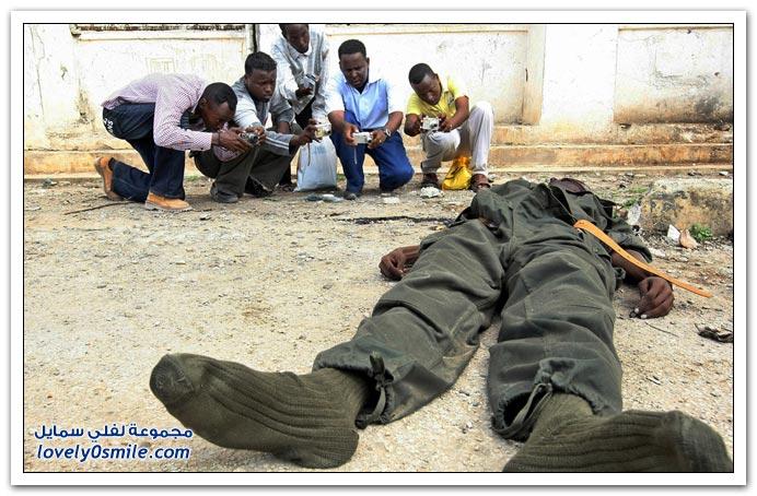 صور القتال من أجل السيطرة على الصومال Fighting-Somalia-24