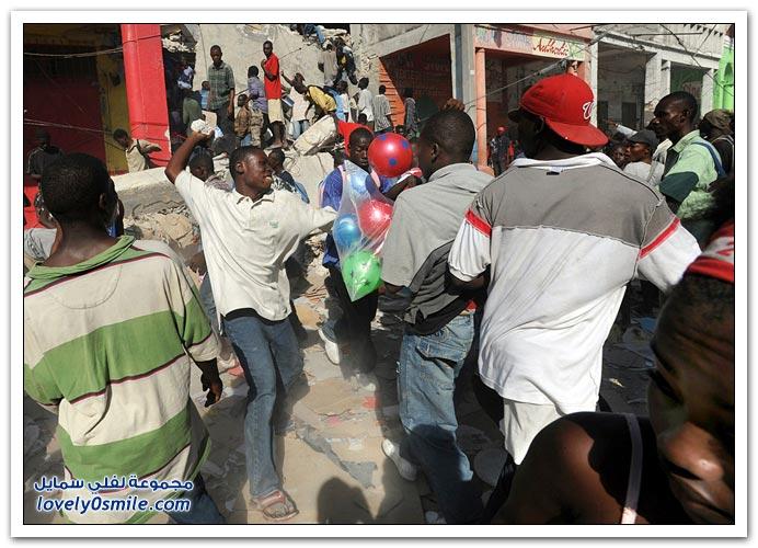 صور من آثار زلزال هايتي Haiti-2010-06