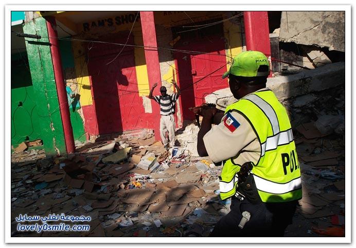 صور من آثار زلزال هايتي Haiti-2010-07