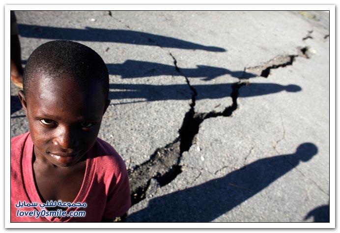 صور من آثار زلزال هايتي Haiti-2010-11