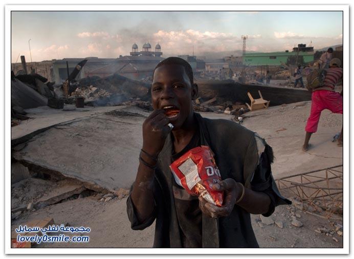 صور من آثار زلزال هايتي Haiti-2010-14