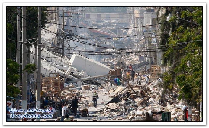 صور من آثار زلزال هايتي Haiti-2010-22