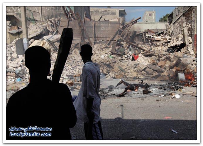 صور من آثار زلزال هايتي Haiti-2010-23