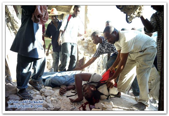 صور من آثار زلزال هايتي Haiti-2010-26