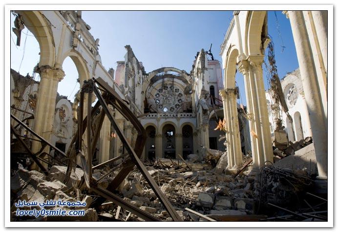 صور من آثار زلزال هايتي Haiti-2010-29