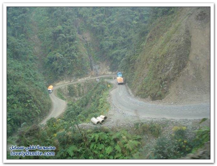 صور أخطر طريق في العالم Most-dangerous-road-04