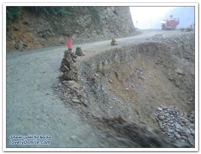 صور أخطر طريق في العالم Most-dangerous-road-05