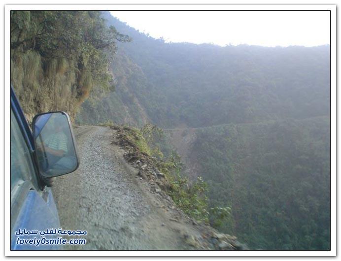 صور أخطر طريق في العالم Most-dangerous-road-07