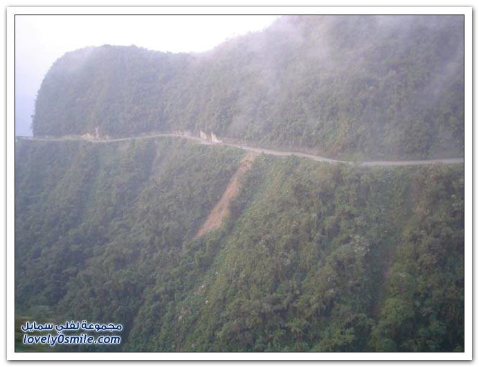 صور أخطر طريق في العالم Most-dangerous-road-09