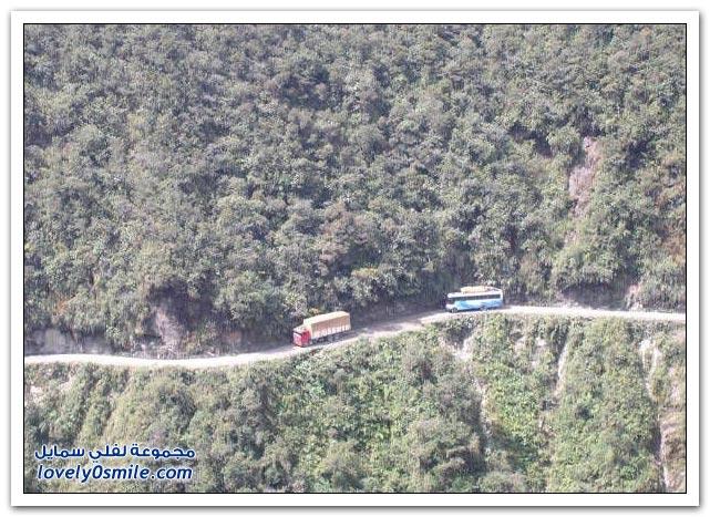 صور أخطر طريق في العالم Most-dangerous-road-11
