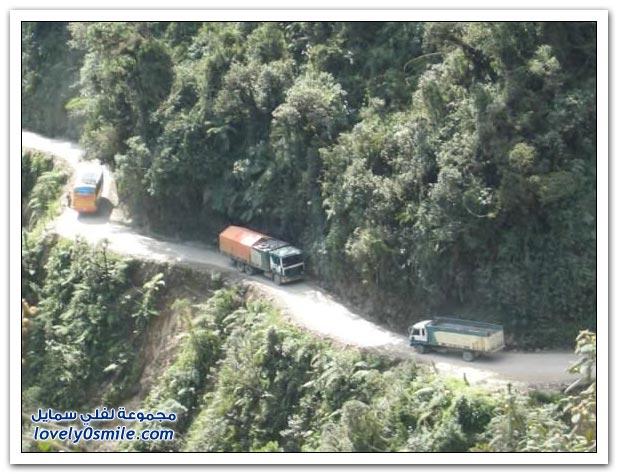 صور أخطر طريق في العالم Most-dangerous-road-12