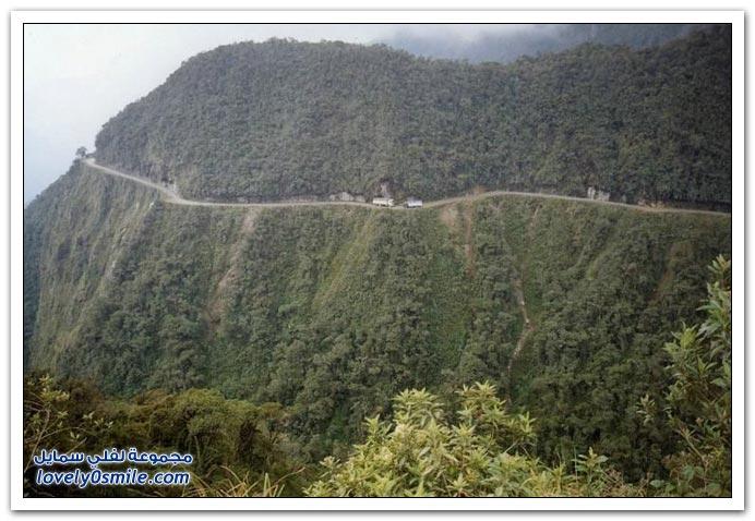 صور أخطر طريق في العالم Most-dangerous-road-13