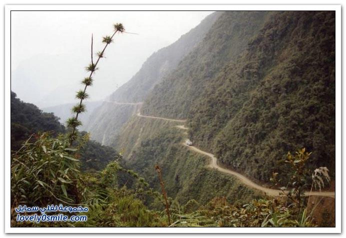 صور أخطر طريق في العالم Most-dangerous-road-14