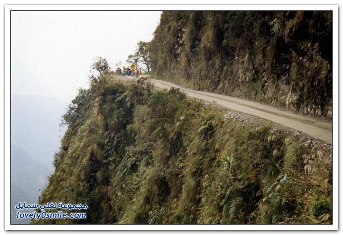 صور أخطر طريق في العالم Most-dangerous-road-15