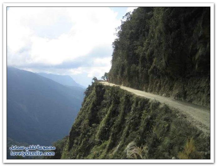 صور أخطر طريق في العالم Most-dangerous-road-17