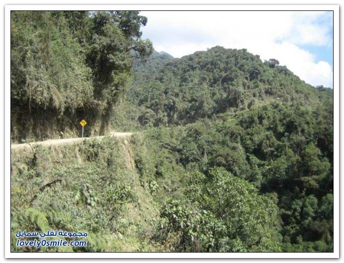 صور أخطر طريق في العالم Most-dangerous-road-18