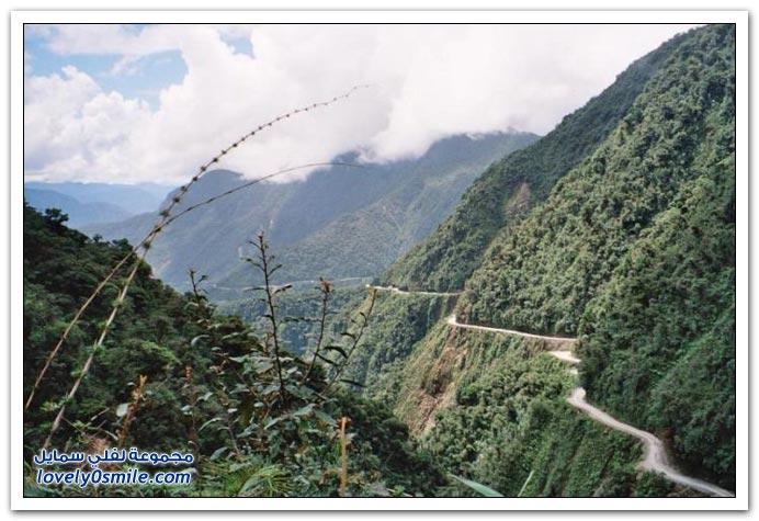 صور أخطر طريق في العالم Most-dangerous-road-21