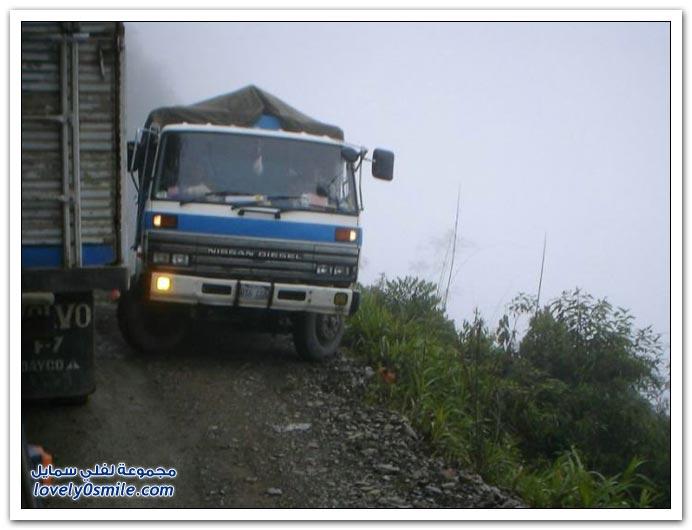 صور أخطر طريق في العالم Most-dangerous-road-23