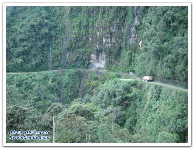 صور أخطر طريق في العالم Most-dangerous-road-24