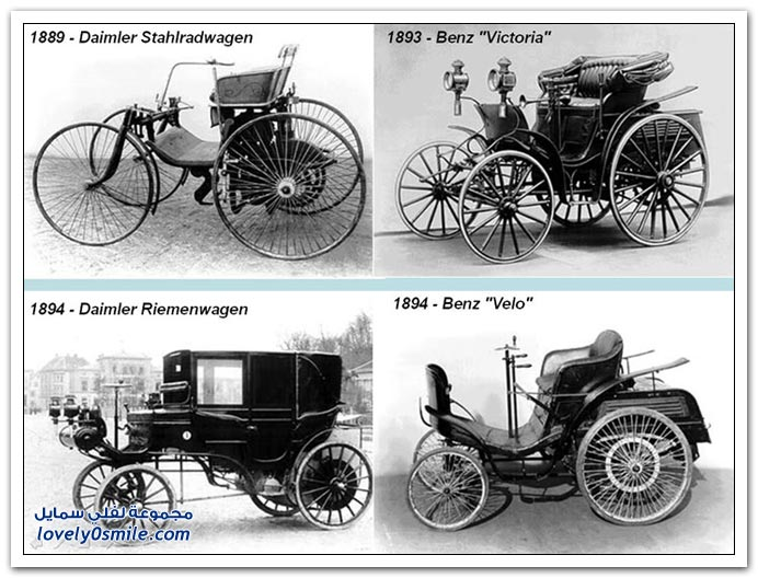 صور المرسيدس من عام 1886 إلى 2010 MERCEDES-1886-2010-02