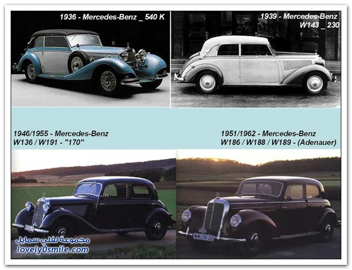 صور المرسيدس من عام 1886 إلى 2010 MERCEDES-1886-2010-03