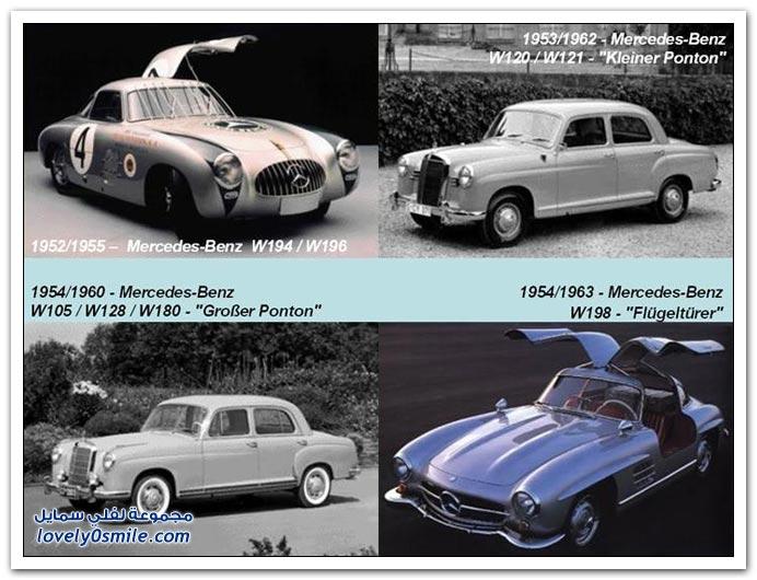 صور المرسيدس من عام 1886 إلى 2010 MERCEDES-1886-2010-04