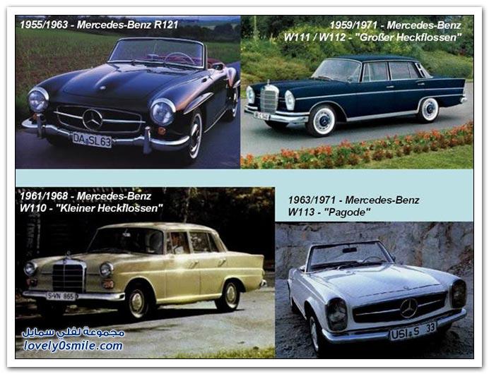 صور المرسيدس من عام 1886 إلى 2010 MERCEDES-1886-2010-05