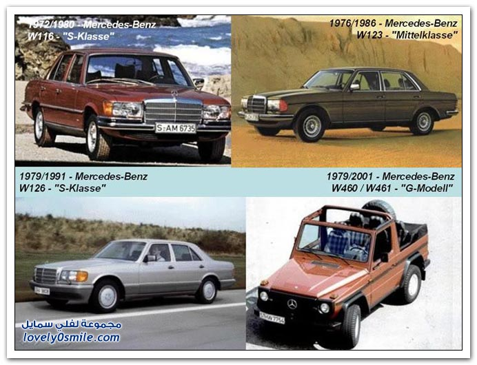 صور المرسيدس من عام 1886 إلى 2010 MERCEDES-1886-2010-07