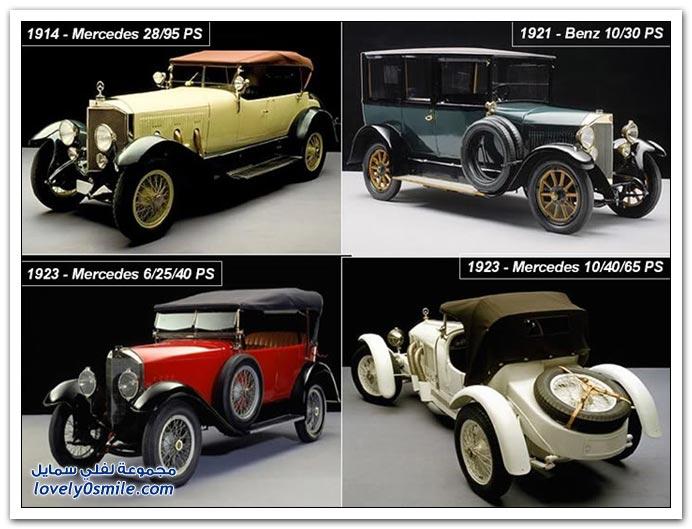 صور المرسيدس من عام 1886 إلى 2010 MERCEDES-1886-2010-20