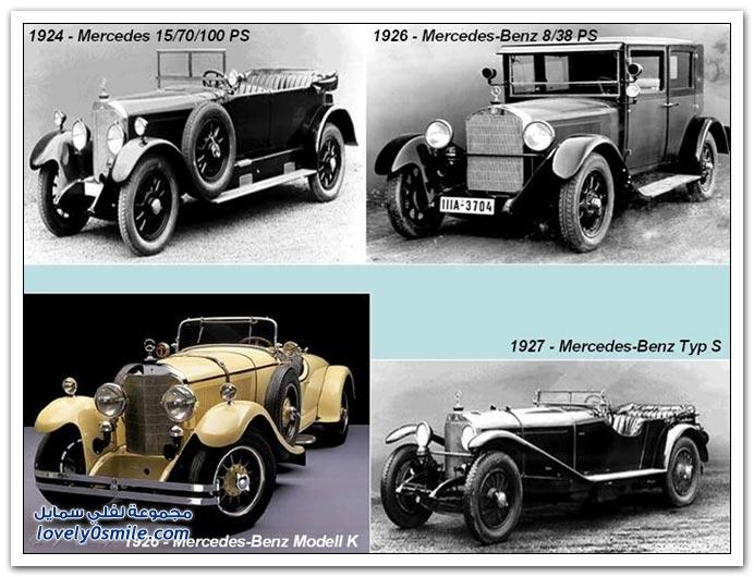 صور المرسيدس من عام 1886 إلى 2010 MERCEDES-1886-2010-21