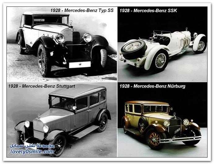صور المرسيدس من عام 1886 إلى 2010 MERCEDES-1886-2010-22