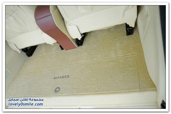 صور: تصميم رائع لمكتب داخل سيارة مرسيدس بنز BrabusMercedes-01