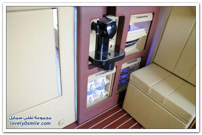 صور: تصميم رائع لمكتب داخل سيارة مرسيدس بنز BrabusMercedes-06